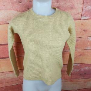 Wilfred Free merino wool sweater hight-low